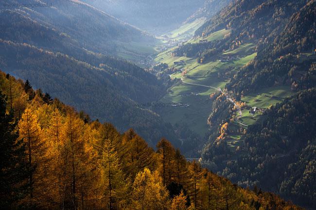 Valle Aurina Riobianco , autunno