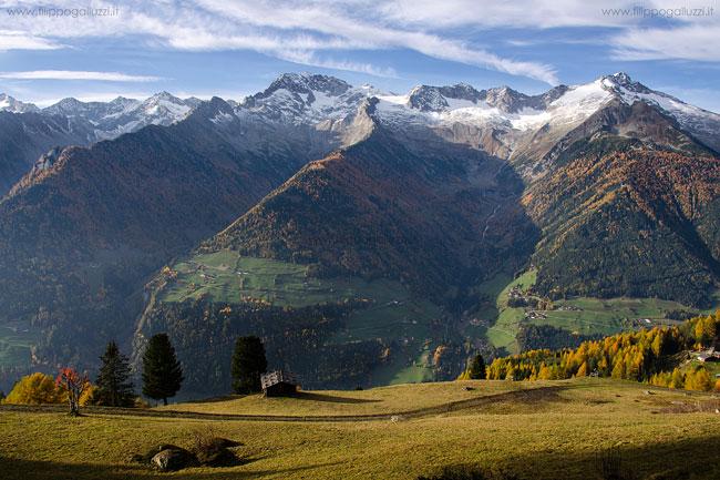 Valle Aurina Ahrntal, autunno