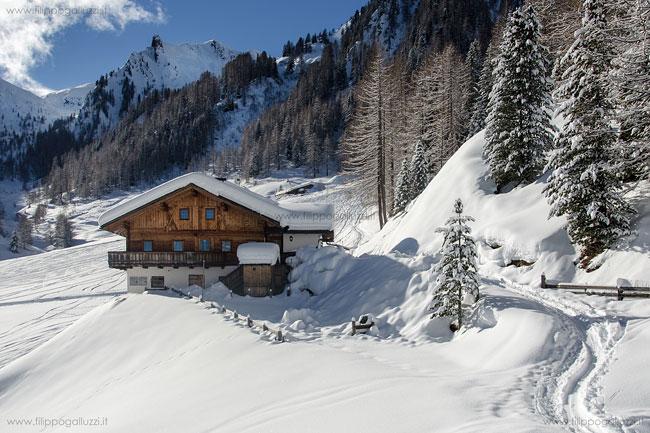 Valle Aurina scialpinismo a Riobianco
