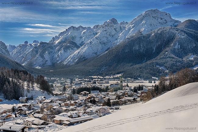 Toblach Pustertal snow