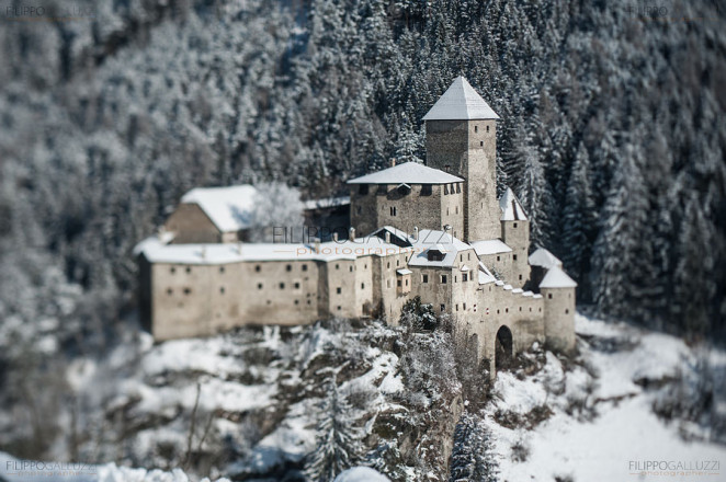 Burg Taufers - ahrntal - snow - winter