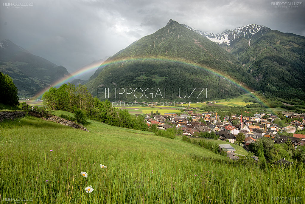 Südtirol Photography - Rainbow in Ahrntal