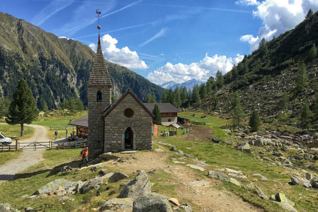 Goge Alm, e la sua chiesetta